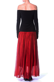 Madonna & Co Silk Skirt - Back cropped