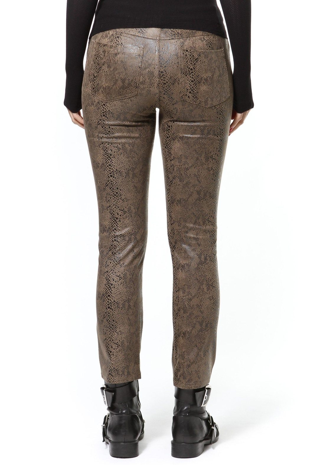 Madonna & Co Snake Stretch Jean - Side Cropped Image