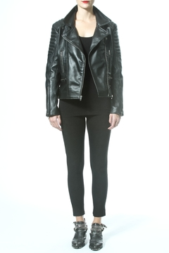 Madonna & Co Statement Leather Jacket - Alternate List Image