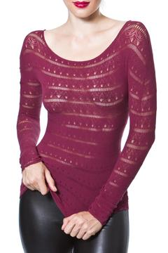 Shoptiques Product: Textured Seamless Top