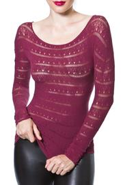 Madonna & Co Textured Seamless Top - Product Mini Image