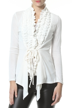 Madonna & Co Textured Trim Cardigan - Product List Image