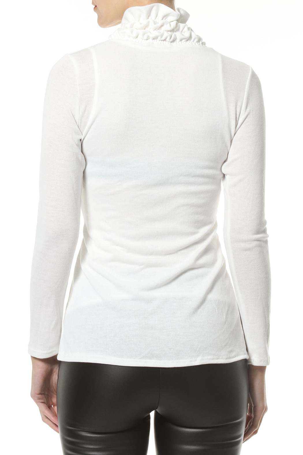 Madonna & Co Textured Trim Cardigan - Side Cropped Image
