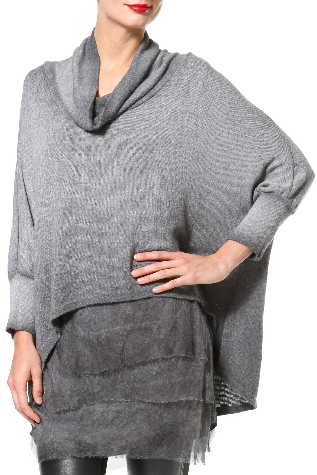 Madonna & Co Textured Tunic - Main Image