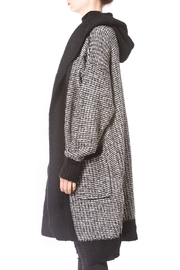 Madonna & Co Tweed Cardigan - Front full body