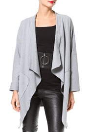 Madonna & Co Washed Knit Cardigan - Front cropped
