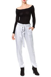 Madonna & Co Washed Satin Pant - Product Mini Image