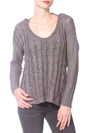 Madonna & Co Wrap Reversible Sweater - Back cropped