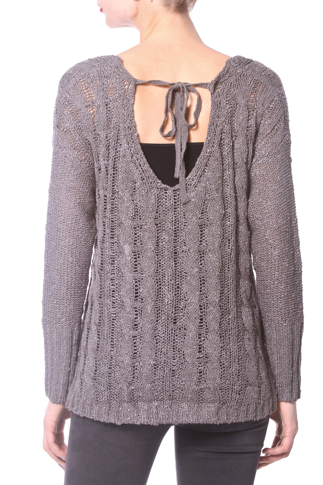 Madonna & Co Wrap Reversible Sweater - Side Cropped Image