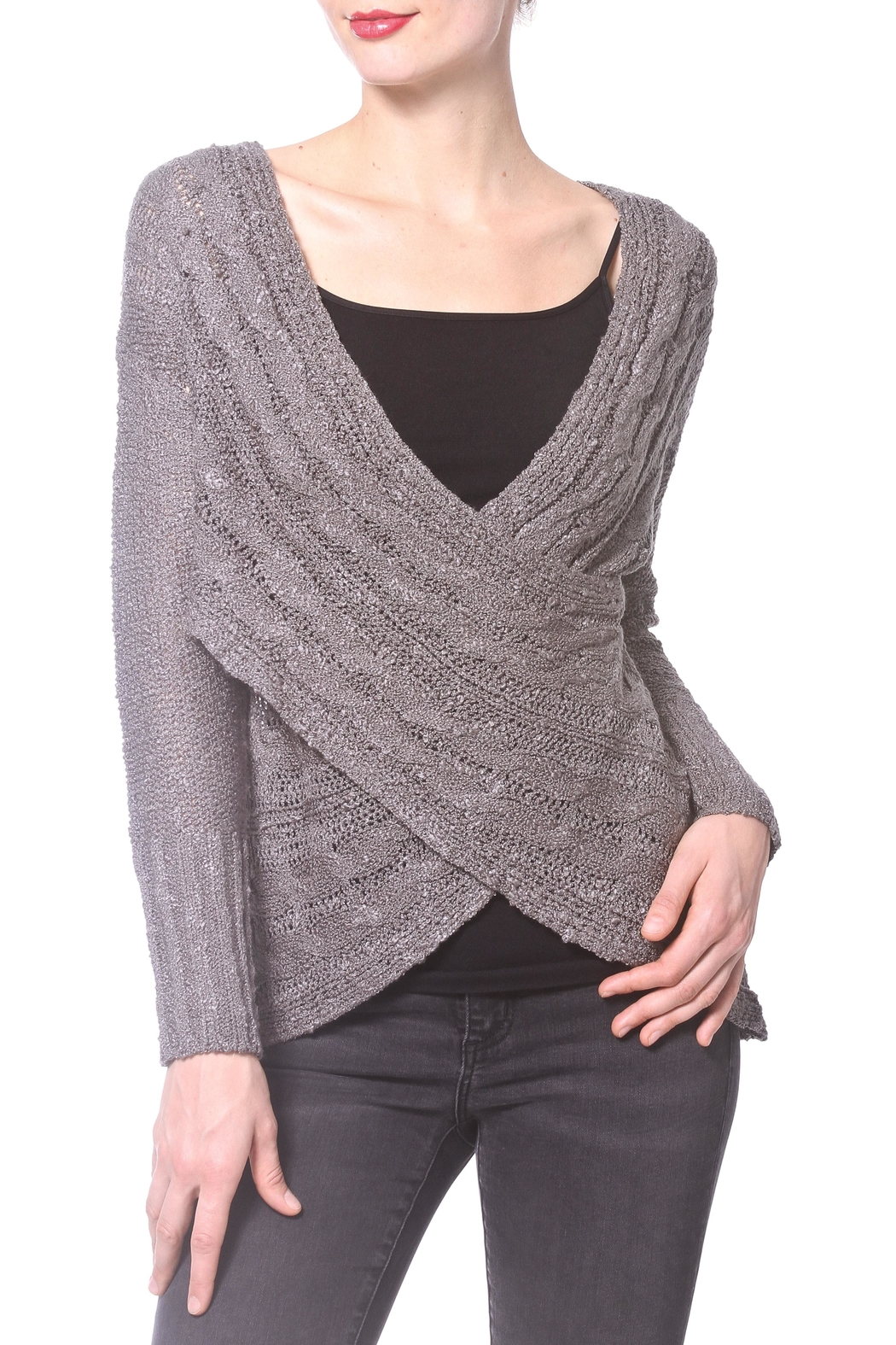 Madonna & Co Wrap Reversible Sweater from Upper East Side by ...