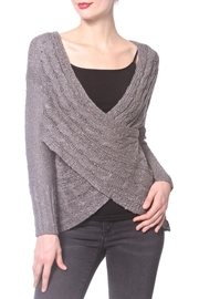 Madonna & Co Wrap Reversible Sweater - Product Mini Image