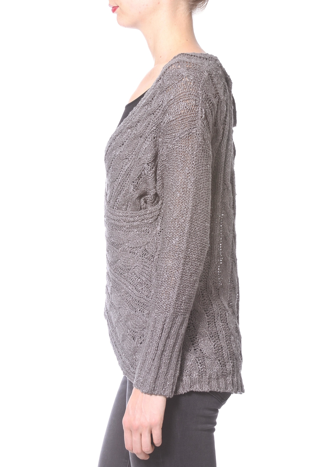 Madonna & Co Wrap Reversible Sweater - Front Full Image