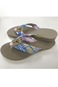 Eliza B Madras Hilton Head, Almond Sole - Product List Image
