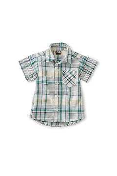 Tea Collection Madras Woven Baby Shirt - Alternate List Image