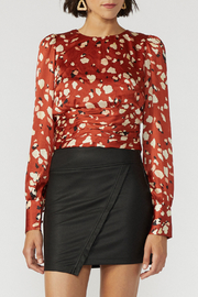 Adelyn Rae Mae Open Back Cropped Blouse - Product Mini Image