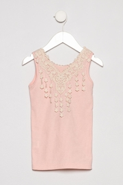 MAE LI ROSE Lace Collar Tank - Product Mini Image