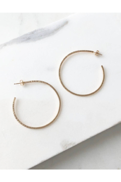 Token Jewelry Maeve Hoops - Alternate List Image