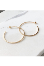 Token Jewelry Maeve Hoops - Front cropped
