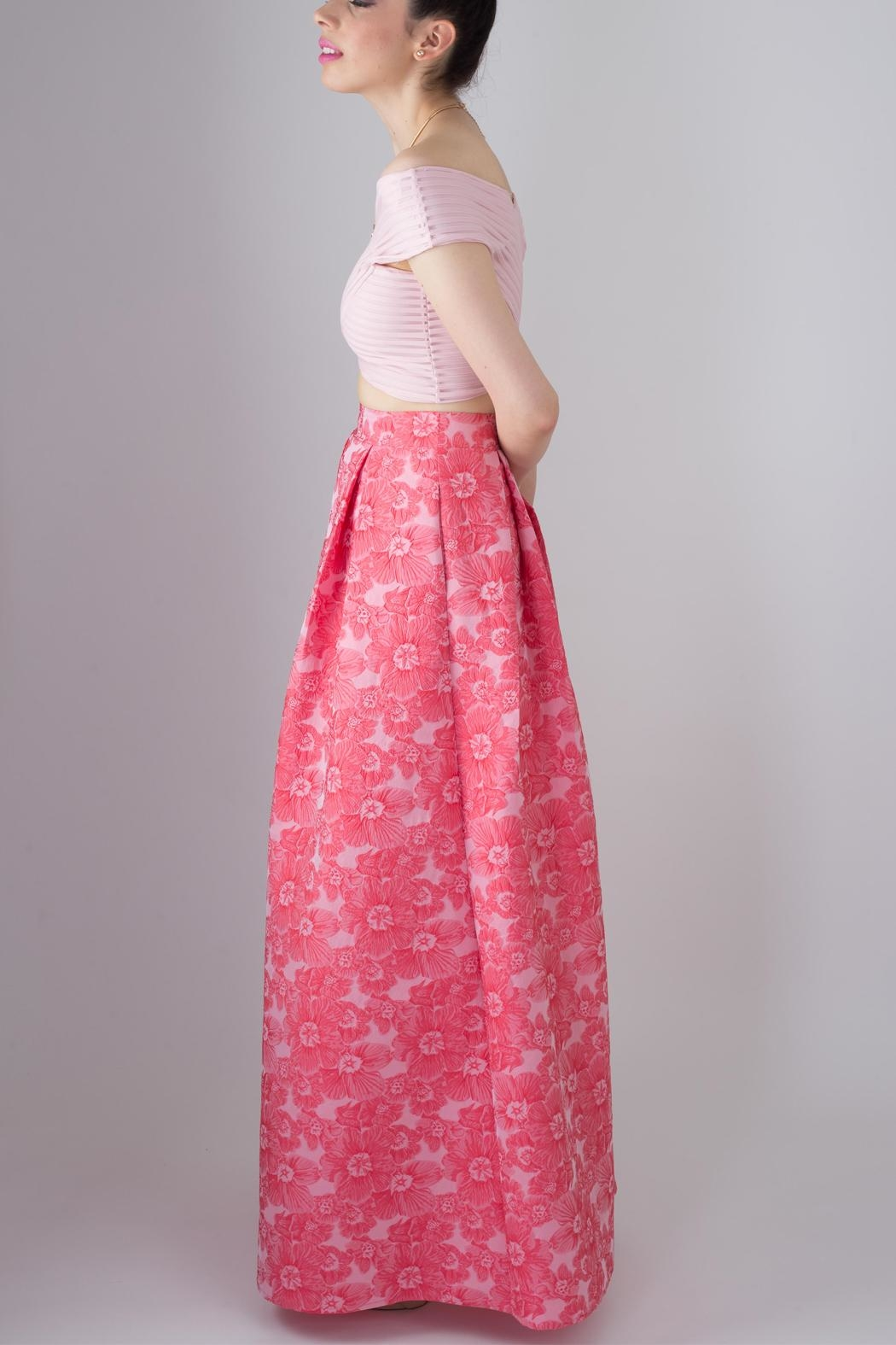 MAF Floral Maxi Skirt - Front Full Image
