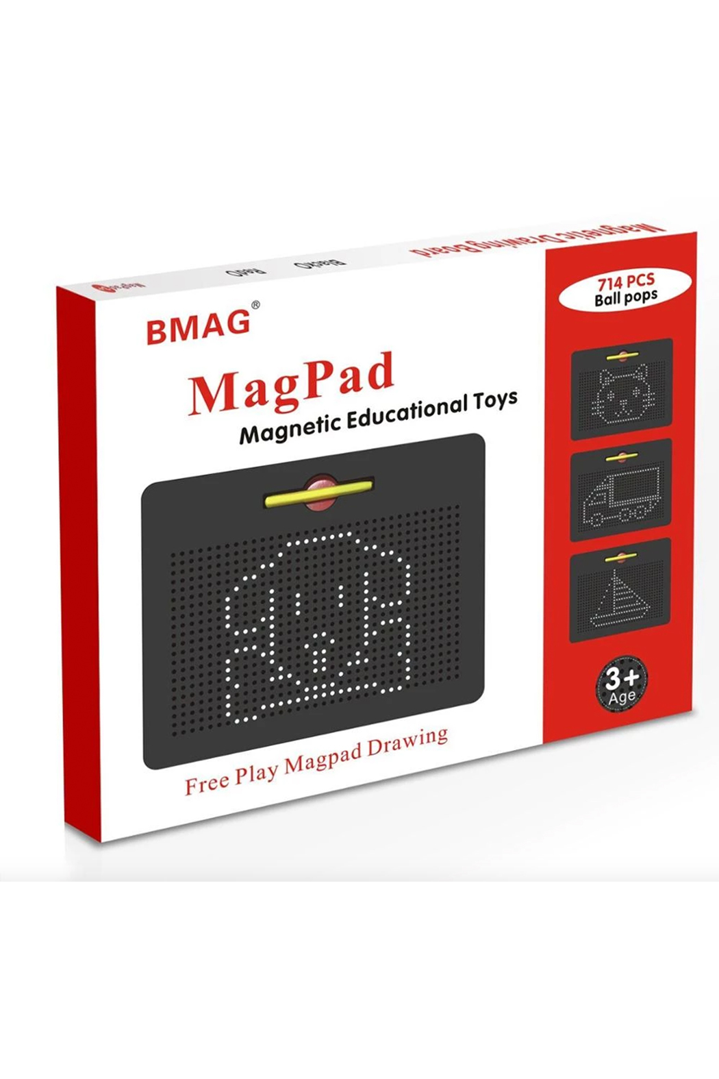 Leading Edge Novelty Mag-Pad Super Magnetic Drawing Pad - Front Cropped Image