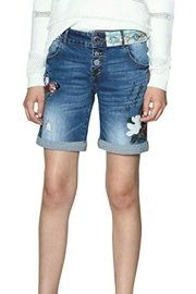 DESIGUAL Magalie Denim Short - Product Mini Image