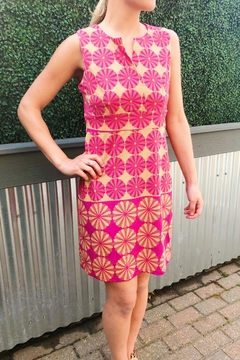 Aryeh Magenta Floral Dress - Product List Image