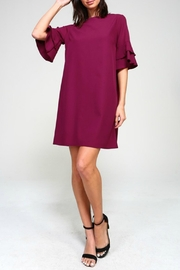 Izzie's Boutique Magenta Shift Dress - Product Mini Image