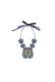 Magenta222 Blue Maxi Necklace - Product Mini Image