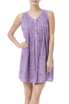 Shoptiques Product: Lavender Pintuck Tunic