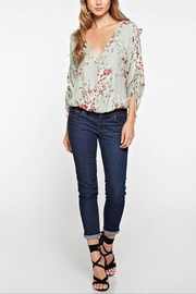 Love Stitch Maggie Floral Blouse - Front full body