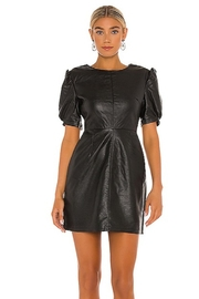 Cupcakes and Cashmere Maggie Leather Dress - Front full body