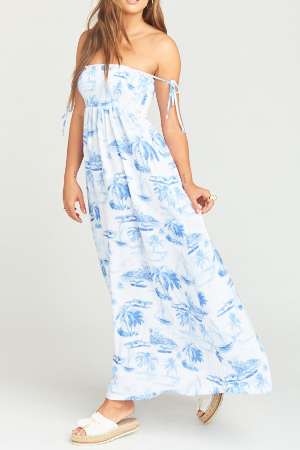 Show Me Your Mumu Maggie Maxi Dress - Back Cropped Image