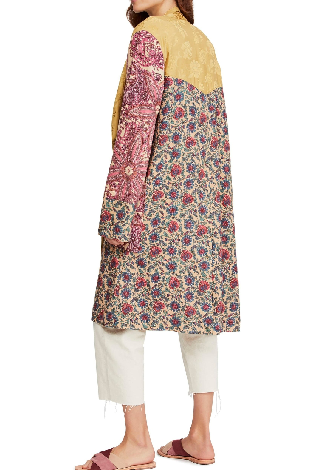 Free People Maggie Patchwork Duster - Front Full Image