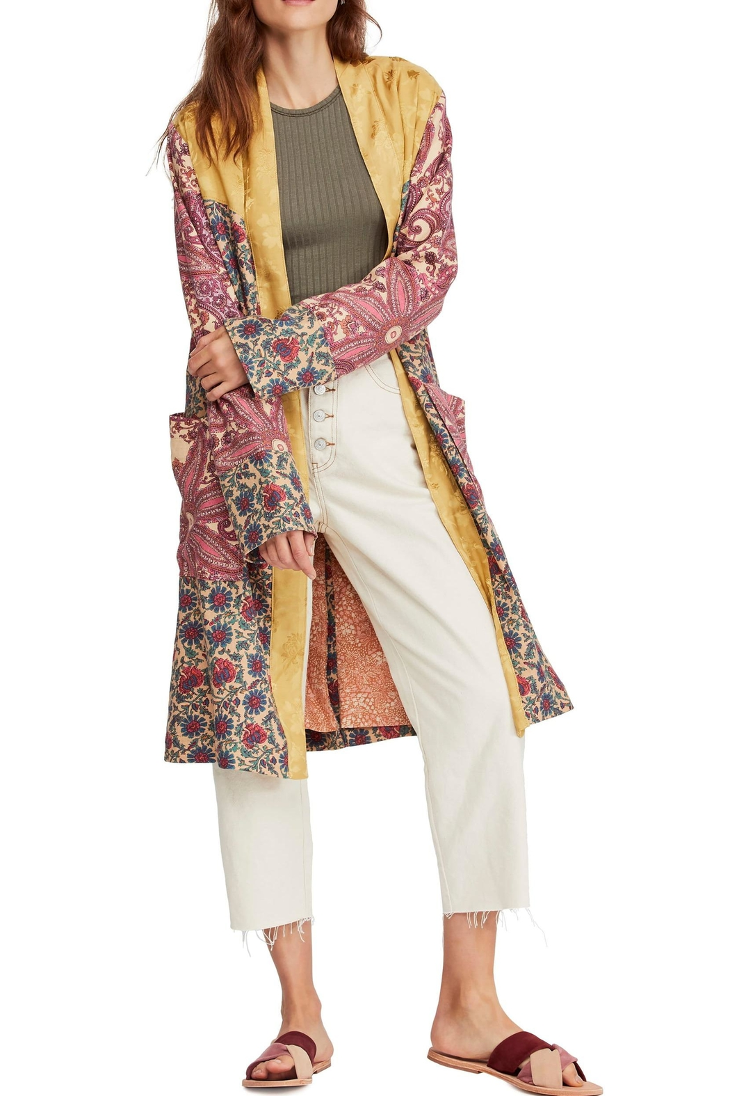 Free People Maggie Patchwork Duster - Main Image
