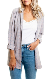 Orb Maggie Woven Plaid - Front cropped