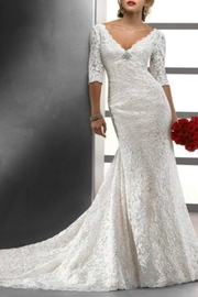 Maggie Sottero 3/4 Sleeve Lace - Product Mini Image
