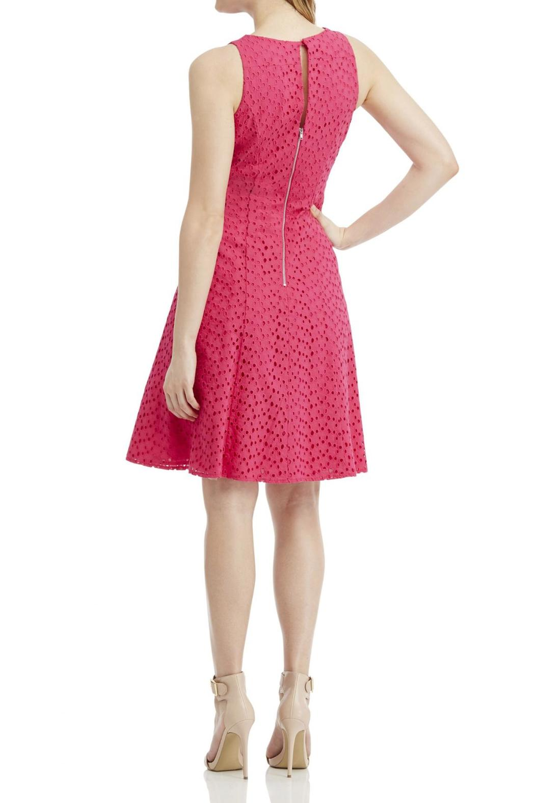 Maggy London Eyelet Dress - Front Full Image