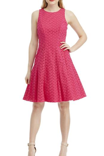 Maggy London Eyelet Dress - Main Image