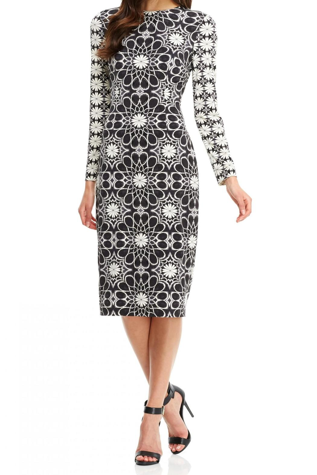 8e47af8d Maggy London Floral Midi Dress from New York by Violet's of Saratoga ...