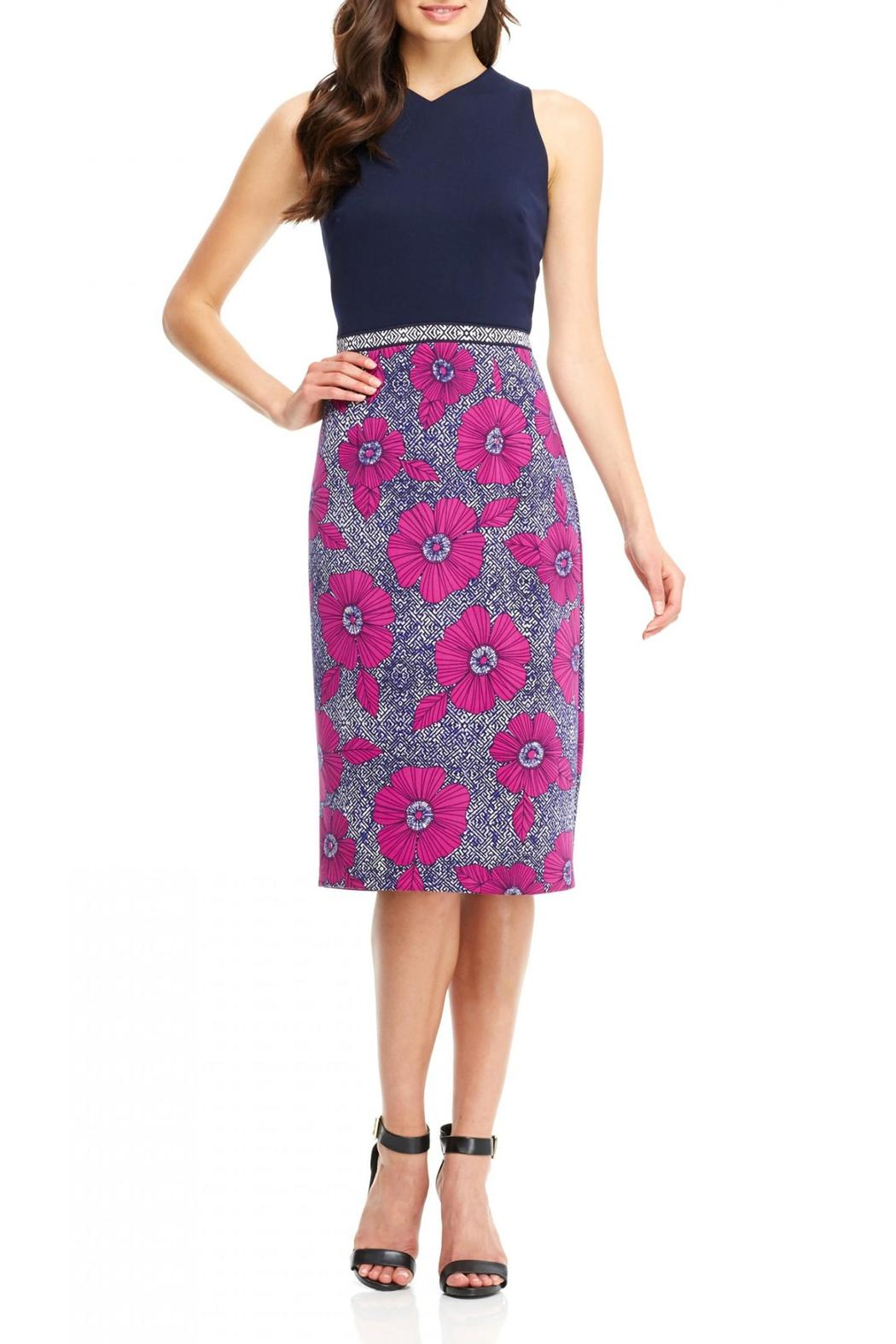 Maggy London Floral Scuba Midi from New York by Violet\'s of Saratoga ...