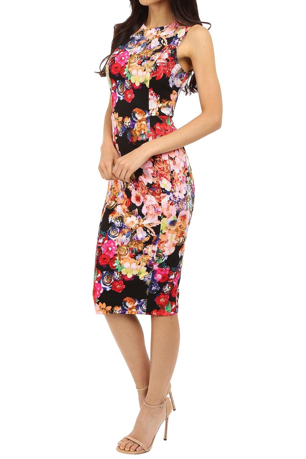 Maggy London Floral Scuba Midi From New York By Violet S Of Saratoga