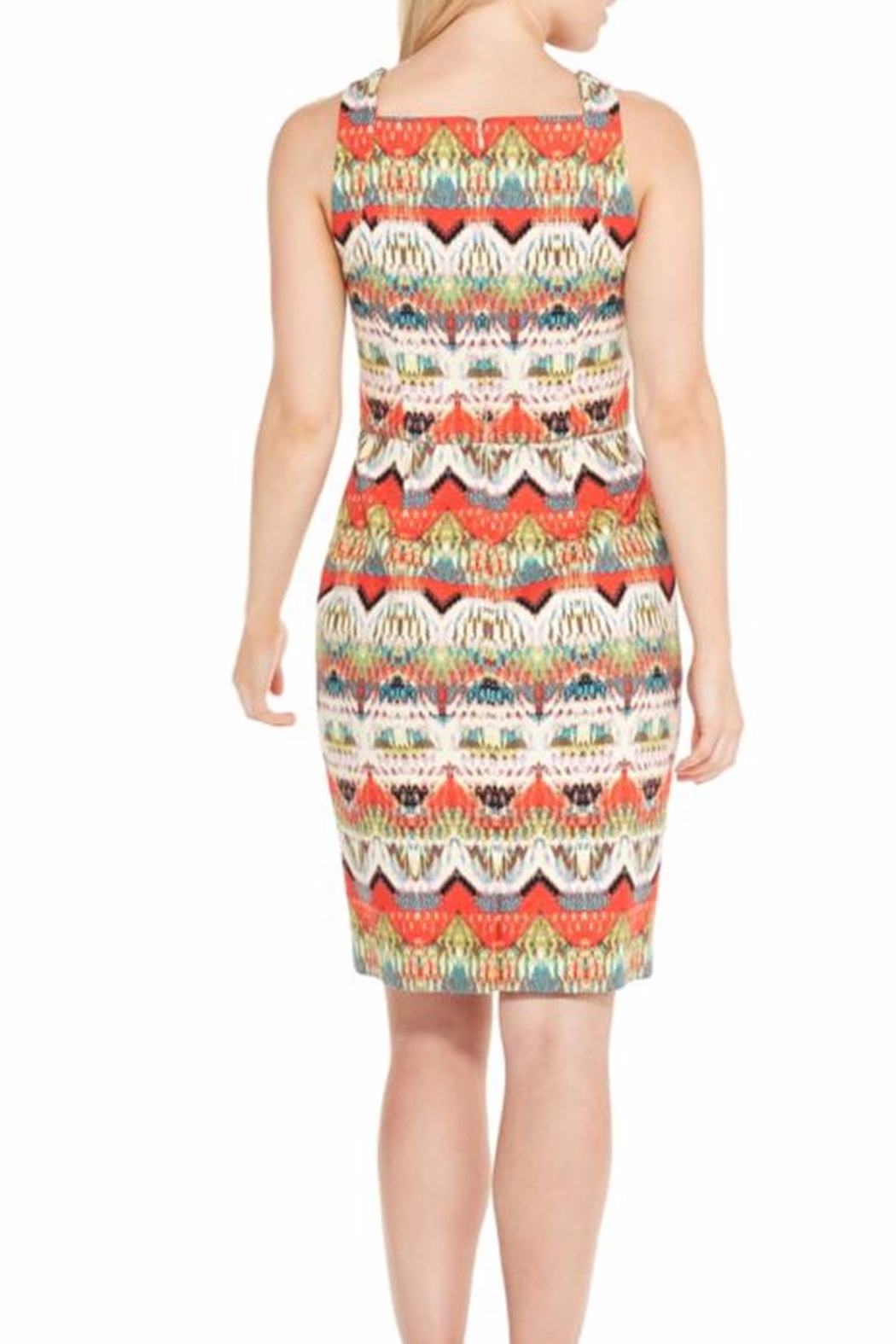 Maggy London Ginger Sheath Dress - Front Full Image
