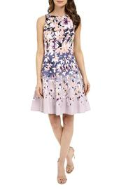 Maggy London Mixed Floral Flare Dress - Product Mini Image