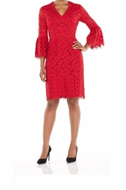 Maggy London Red Lace Dress - Product Mini Image