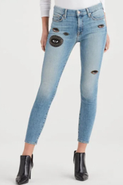 7 For all Mankind Magic Eye Skinny Jean - Product Mini Image