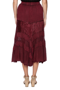 Magic Scarf Chic Linen and Lace Skirt - Alternate List Image