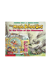 Scholastic Magic School Bus In The Time Of Dinosaurs - Front cropped