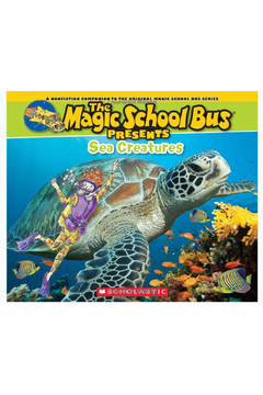 Scholastic Magic School Bus Presents Sea Creatures - Alternate List Image