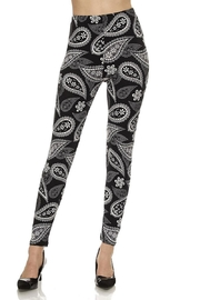 Magic Scarf Paisley Leggings - Product Mini Image