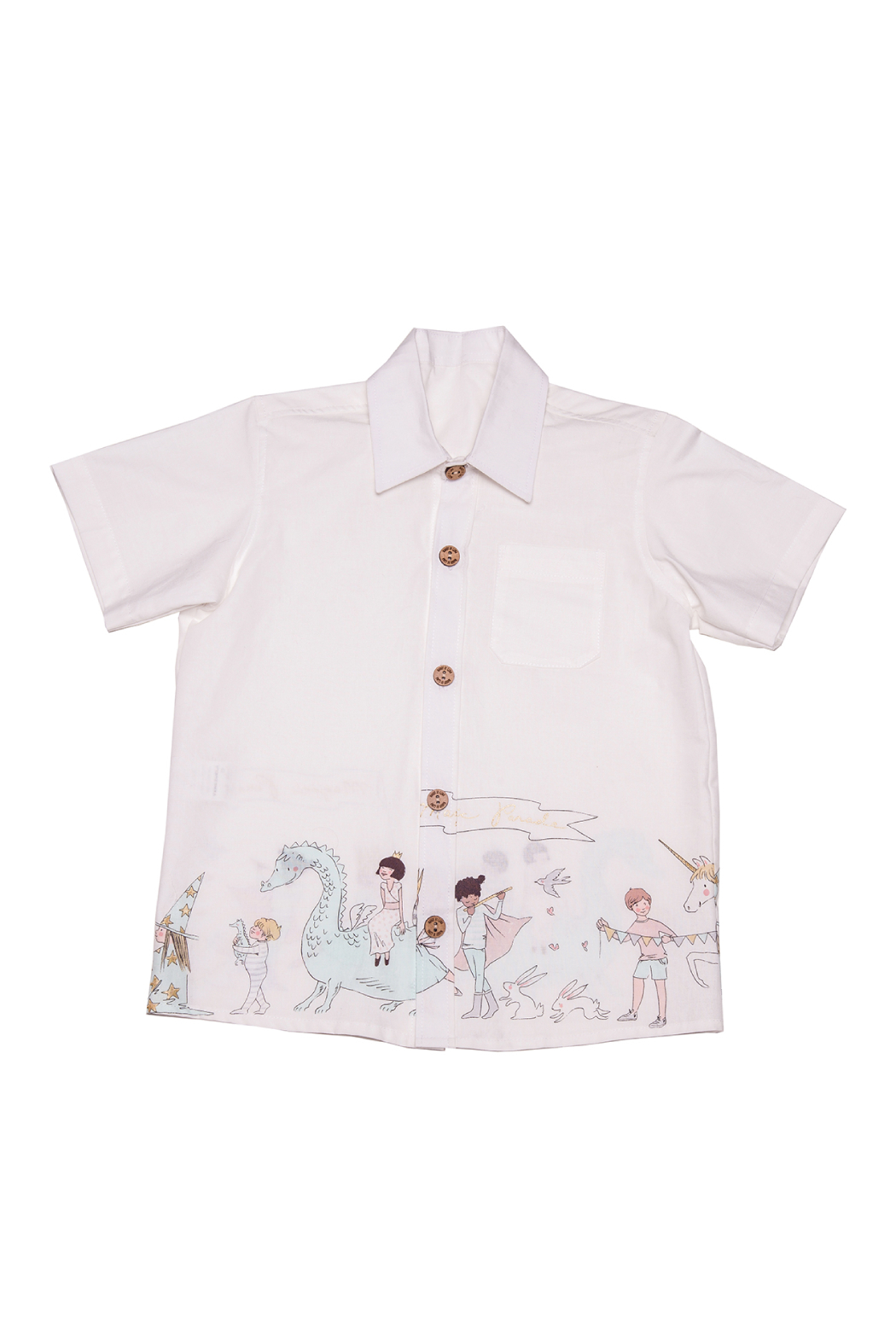 Mandy by Gema Magical Parade White Shirt - Front Cropped Image